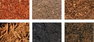 A wide selection of mulches are available. Source: Greenscapes Austin