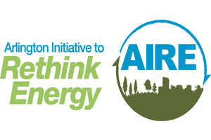 Arlington Initiative to Rethink Energy logo.