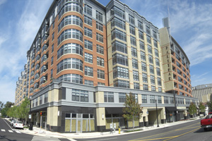 The Halstead private development on Columbia Pike.