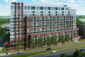 Rendering for the Gables Residential