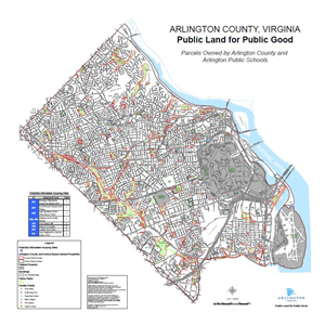 Arlington County Publicly Owned Parcels