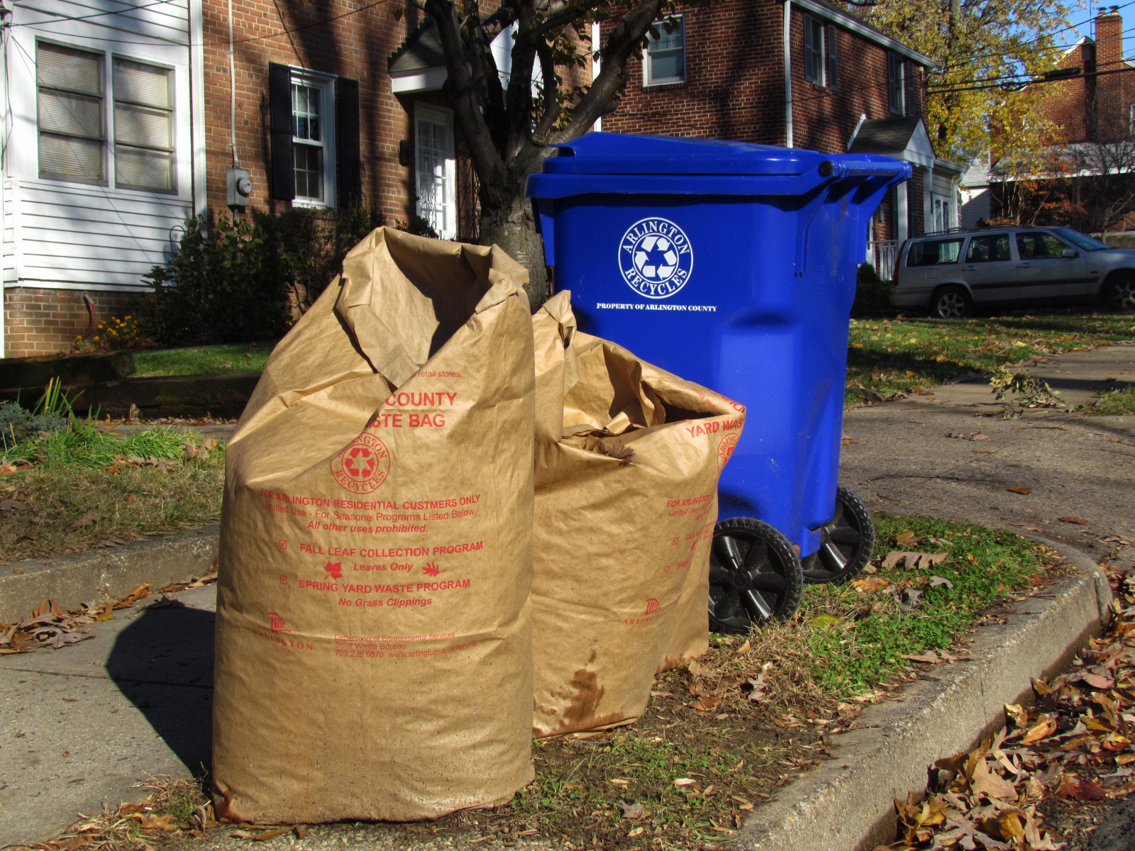 Leaf Collection Trash Amp Recycling
