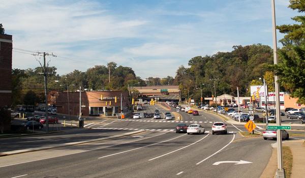 lee highway street intersection