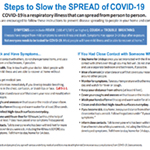 slow the spread of coronavirus