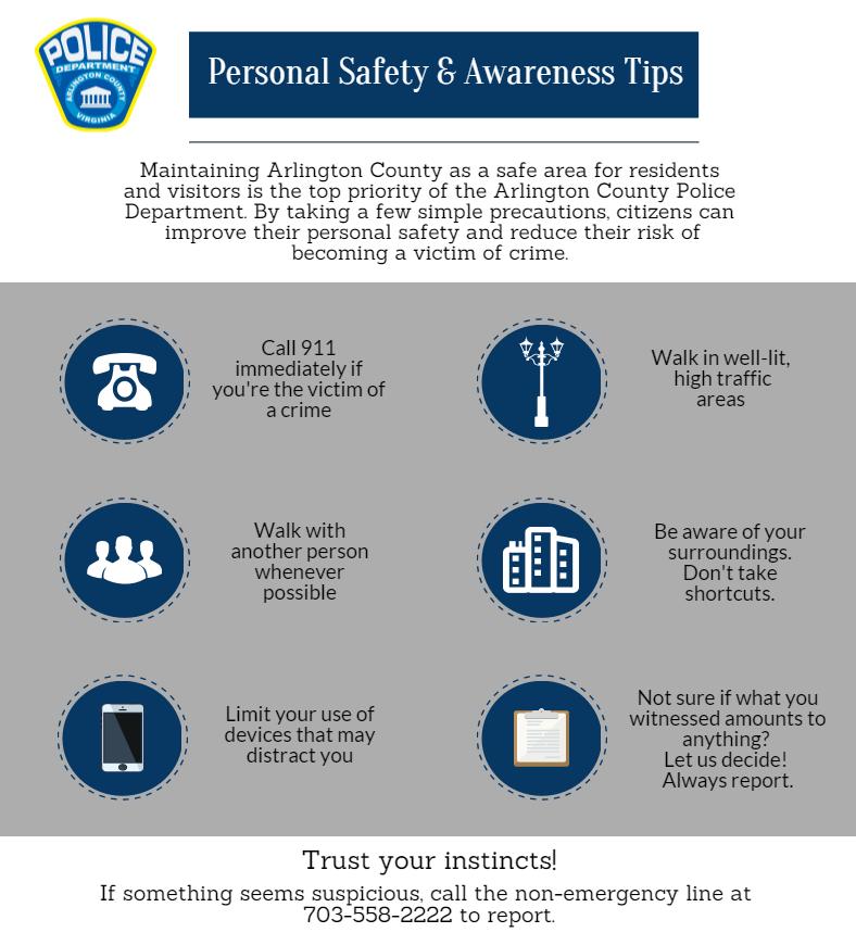 Prevention & Safety - Police, Arlington, Virginia