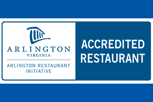 accredited restaurant sticker