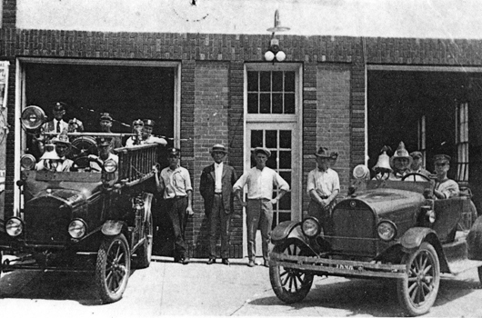 image ca. 1920s of Fire Station #1