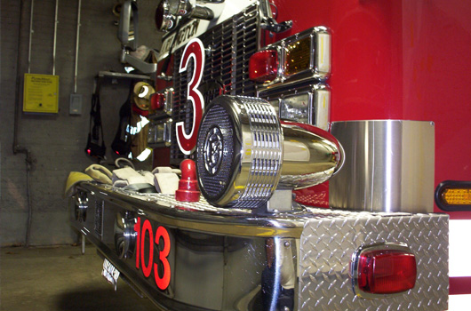 upclose image of engine 103