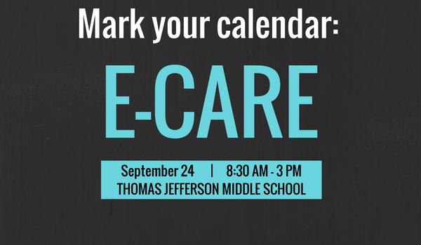 E-CARE is Sept 24