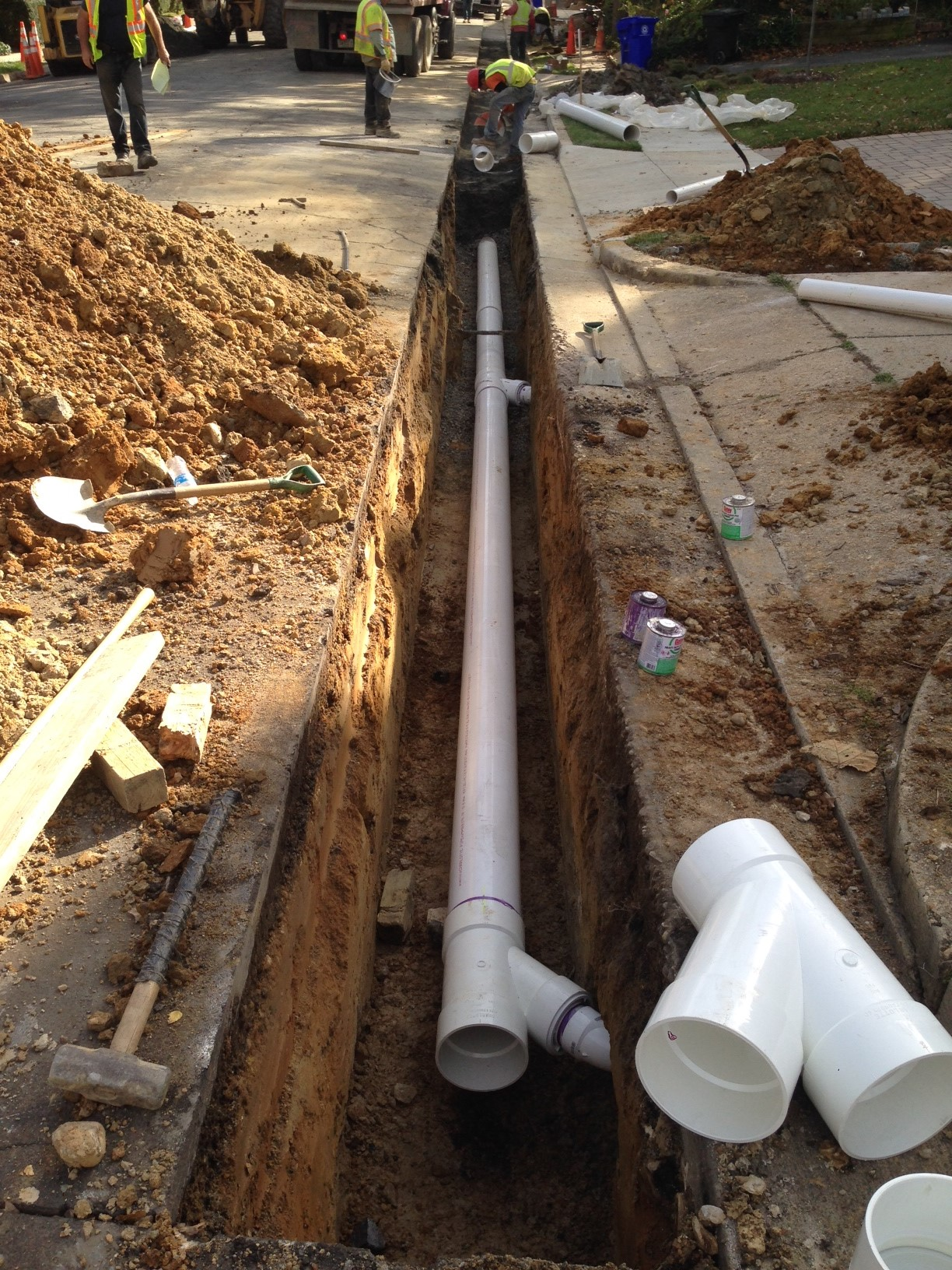 how to connect pool pump to poly pipe