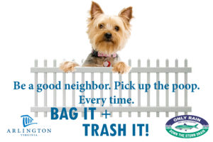 Be a good neighbor, pick up the poop
