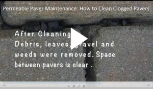 View the permeable paver maintenance video