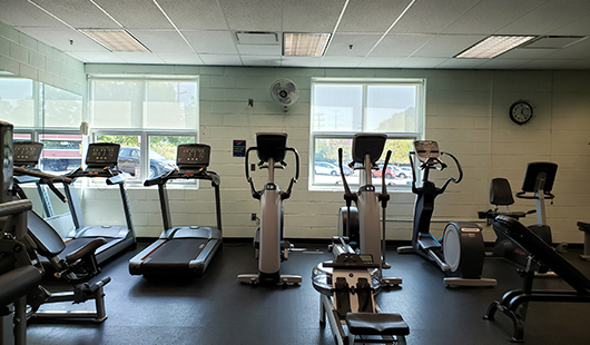 barcroft fitness room