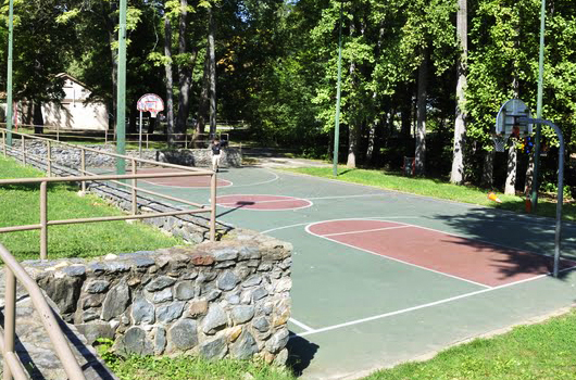 alcova heights arlington county park basketball court