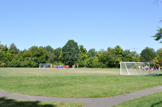 arlington county hall park soccer field