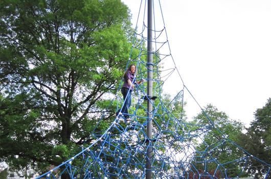 butler holmes arlington county park climbing