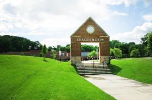 charles drew arlington county entrance