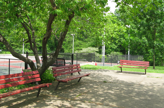 glebe_road_park_arlington_county_benches