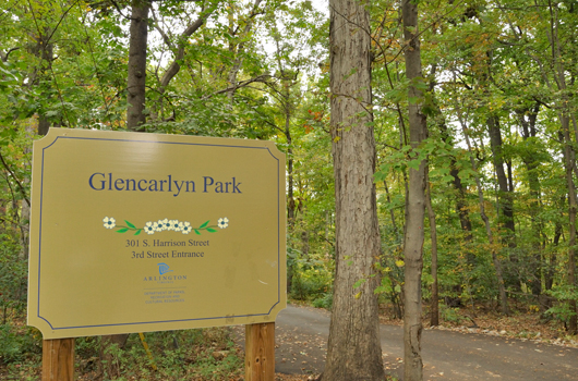 glencarlyn_park_arlington_county_sign_trees