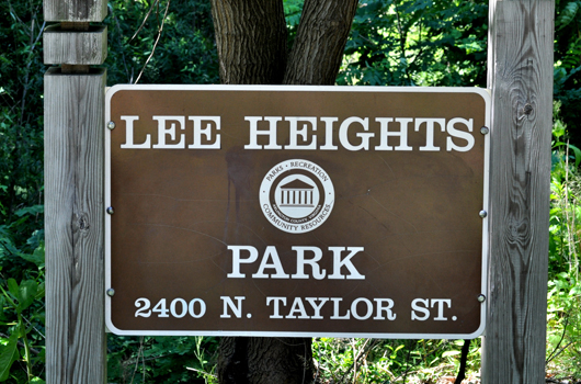 lee_heights_park_arlington_county_sign