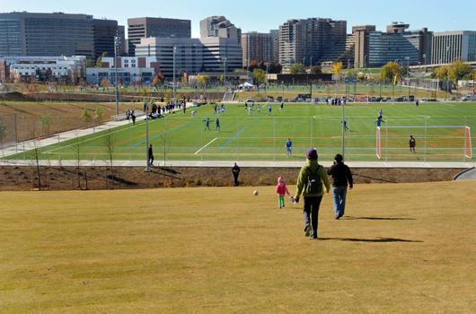 long_bridge_park_arlington_county_soccer_field