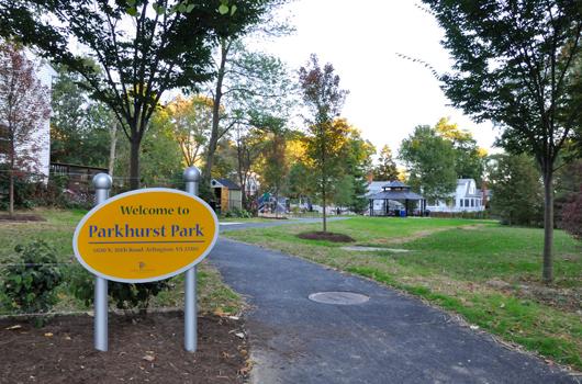 parkhurst_park_arlington_county_sign