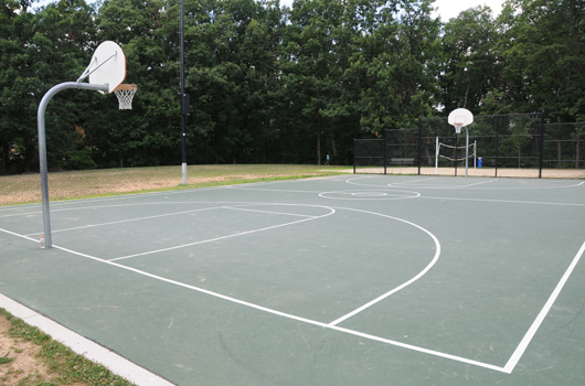 tyrol park arlington county basketball court