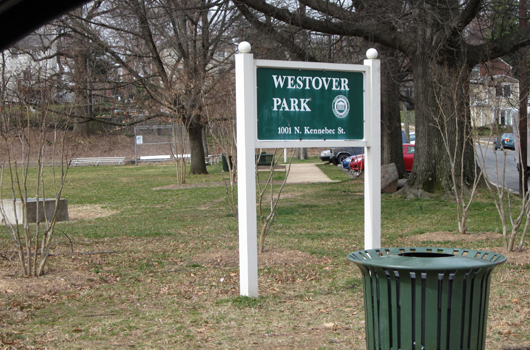 westover park sign