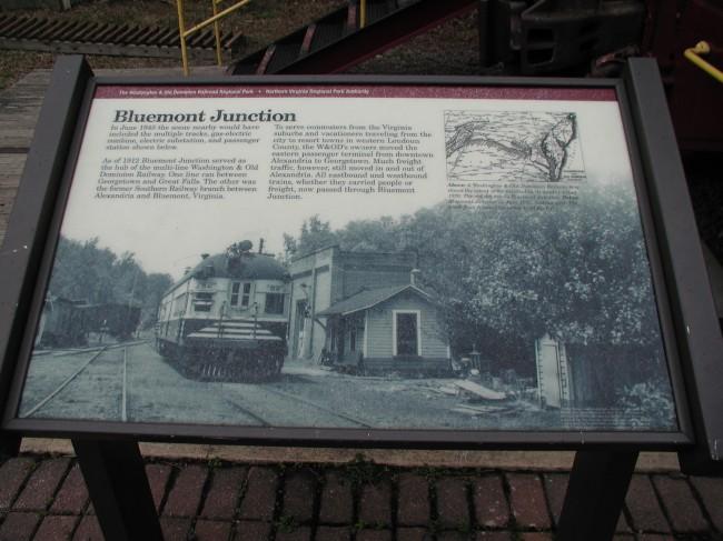 Bluemont Junction Interpretive Sign 1