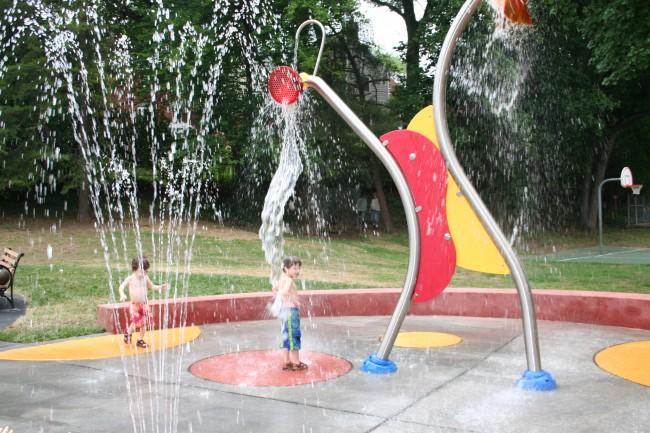 Lyon Village Sprayground