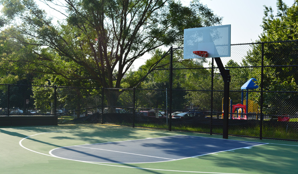 Basketball courts parks recreation for How much are basketball courts