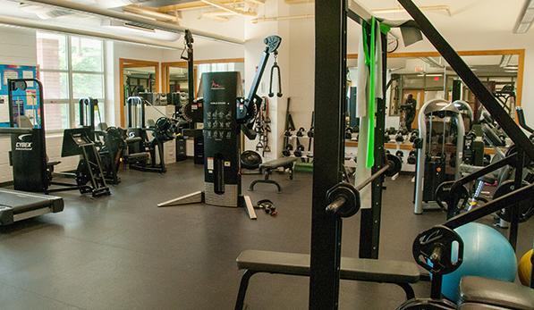 Langston-Brown Fitness Room