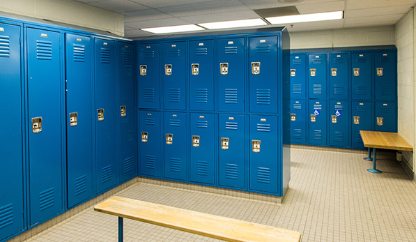Barcorft Locker Room