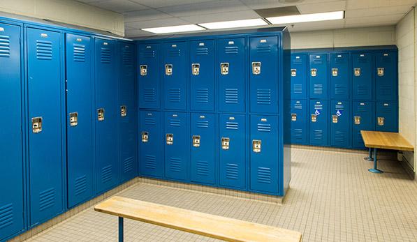 Barcorft Locker Room