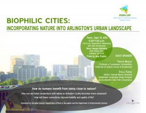 Biophilic City - FINAL FLYER