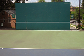 lyon village tennis court