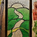 Art Deco Stained Glass Panel Project