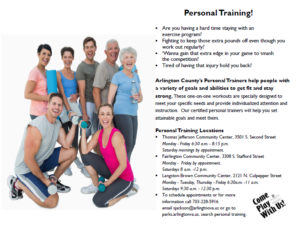 download personal training flyer