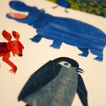 Eric Carle animals including penguin, kangaroo, and hippo