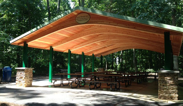 rent a picnic shelter