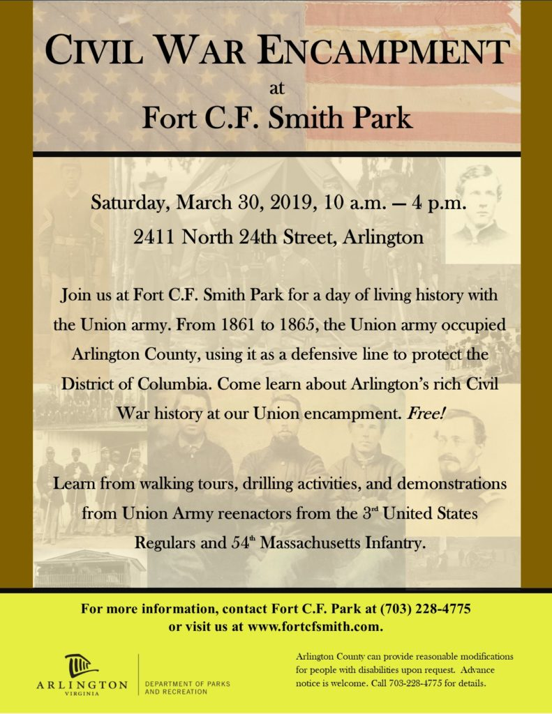 Living History at Fort C.F. Smith Flyer