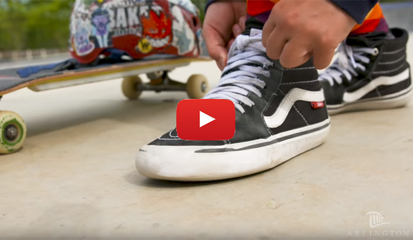 watch the video on the new skate park