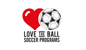 Love the Ball Soccer Programs logo