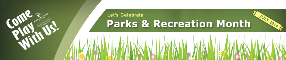 parks and rec month banner