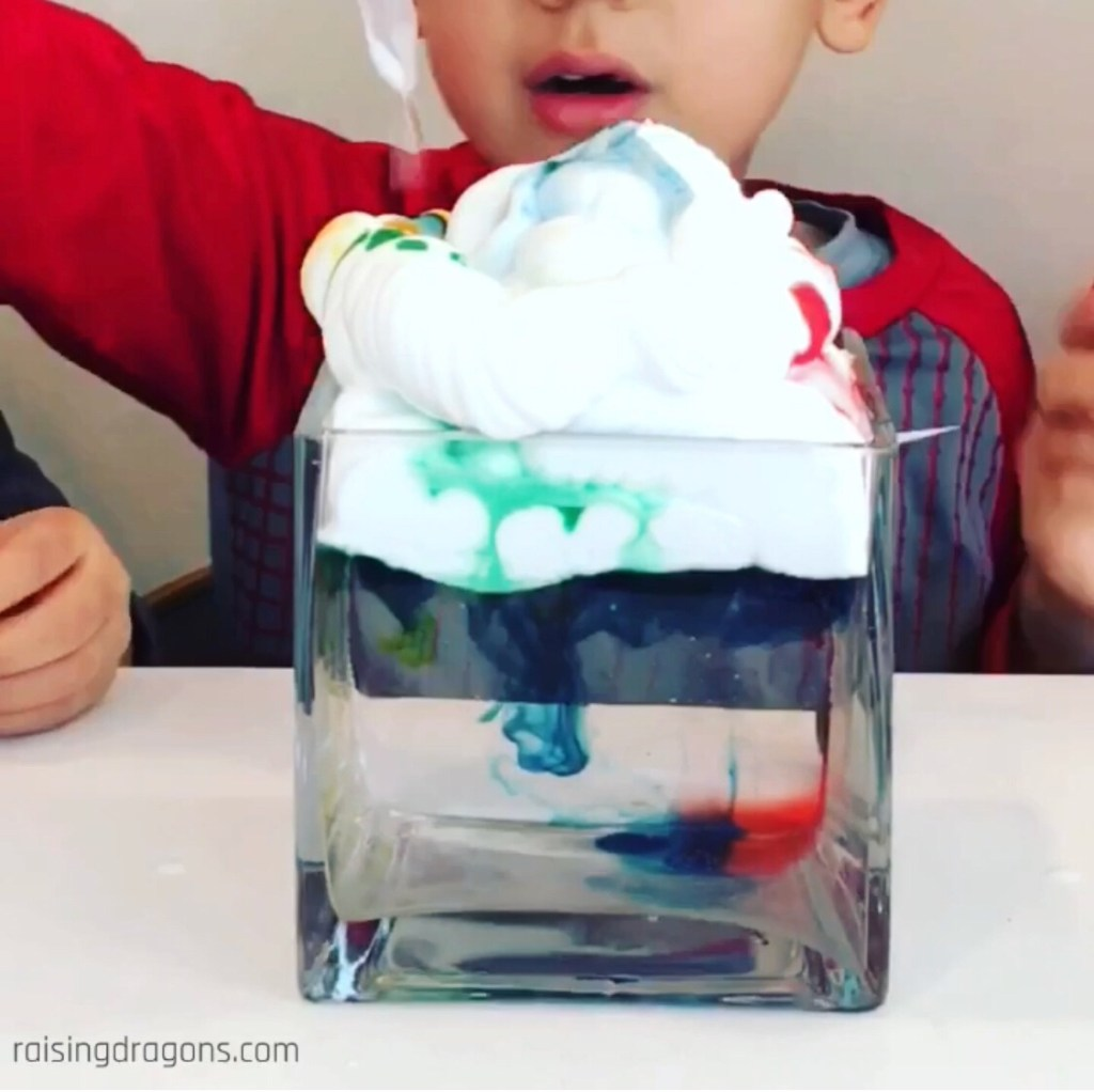 make a cloud at home