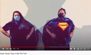 Super Squad Fall Promo Video on Youtube