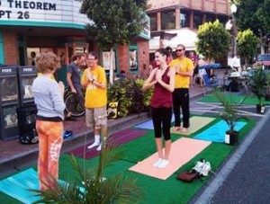 Tempe, Arizona, 2014 PARK(ing) Day