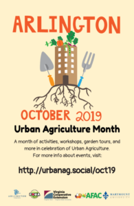 october is urban agriculture month