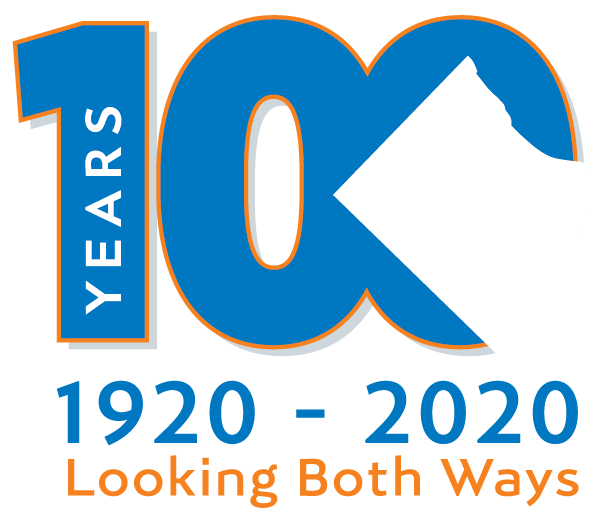 logo for 100 year anniversary