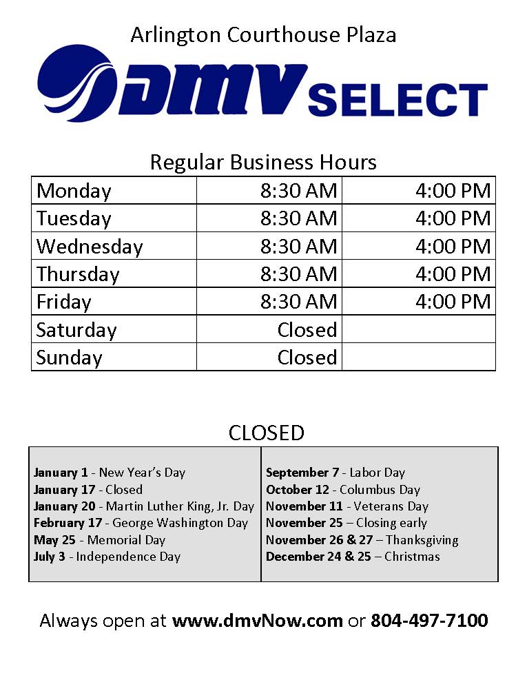 Dmv Select Location At Bozman Government Center Is Closed Until Further Notice Taxes Payments